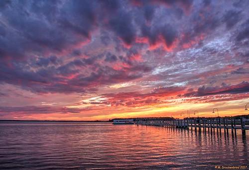deweybeach sunset delaware de rehobothbay sky atlanticocean sussexcounty inlandbay broadkillriver rehobothcanal sand beach