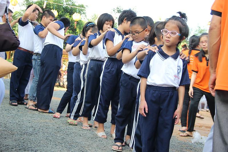 Các em học sinh trường khuyết tật Đồng Nai