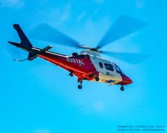 AgustaWestland A109 Rising & Kicking Stuff Up
