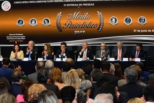 IV Entrega de la Medalla al Mérito Periodístico 2017 7/jun/17