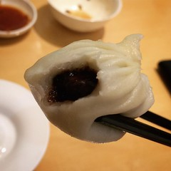 So, chocolate dumplings are a thing. And by goodness what a glorious thing they are. #nomnomnom    #Beijing #foodiegram