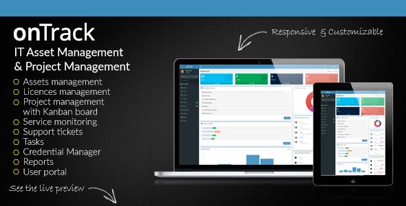 onTrack v1.7 – IT Asset Management & Project Management