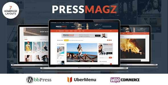 PresssMagz WordPress Theme free download