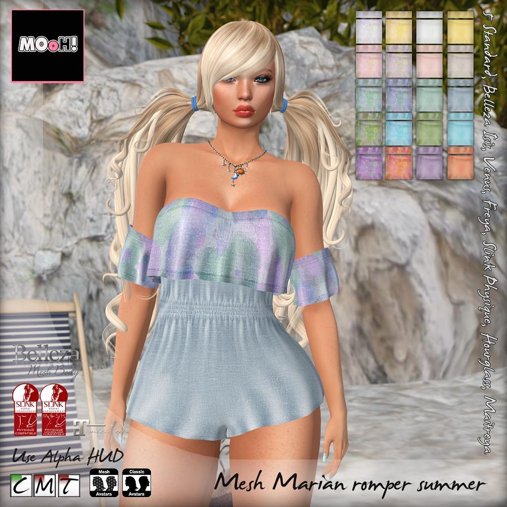 Marian romper summer - SecondLifeHub.com