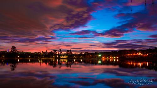 liked spain sky madrid lake europe sunrise bluesky amanecer breakofday cielo cieloazul dawn daybreak españa europa lago mañana morning salidadelsol sunup