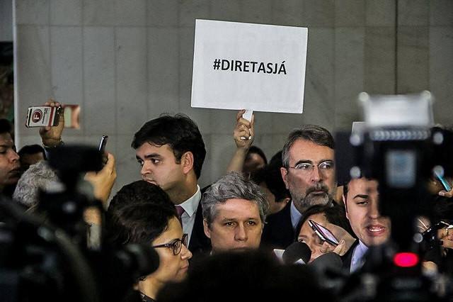 """Manifestaciones por """"Directas ya"""" aumentan en Brasil - Créditos: Mídia Ninja"""