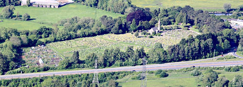 Llanfoist Cemetery from the Blorenge (Dickie-Dai-Do)