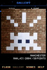 MAN_43 , Invader, Flash Invaders, street art Manchester