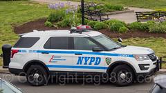 NYPD Precinct 122 Police Patrol Car, South Beach, Staten Island, New York City
