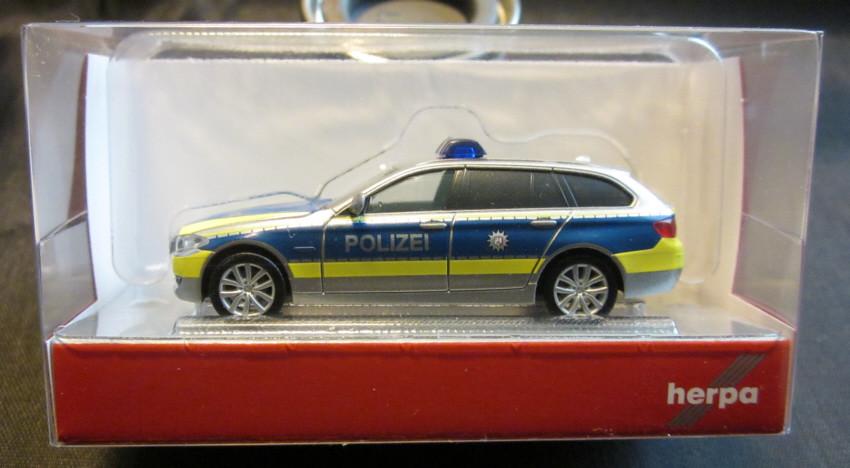 Herpa bmw 5er Tour ™ policía 110 autopistas policía NRW warnanlage 095006