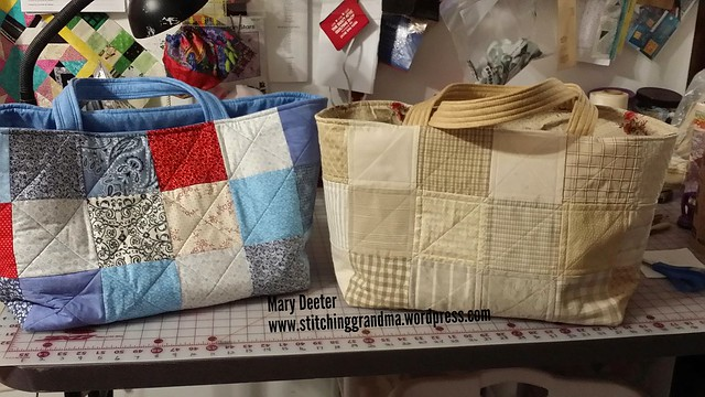 Pair of chubby charmer bags