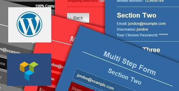 Ajax Multi Step Form WordPress Plugin free download