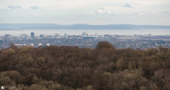 Cardiff from Garth Mountain side