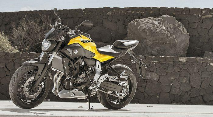 Yamaha MT-07 700 2015 - 0