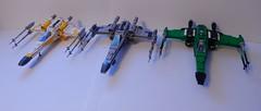 3 X-wings