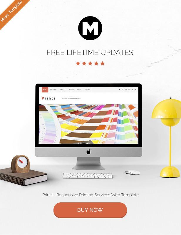 Princi - Responsive Printing Services Web Template - 5