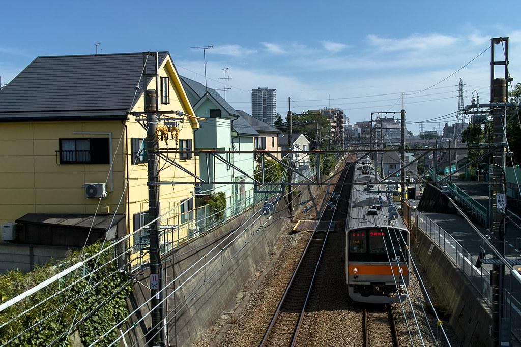 昼下がりの武蔵野線