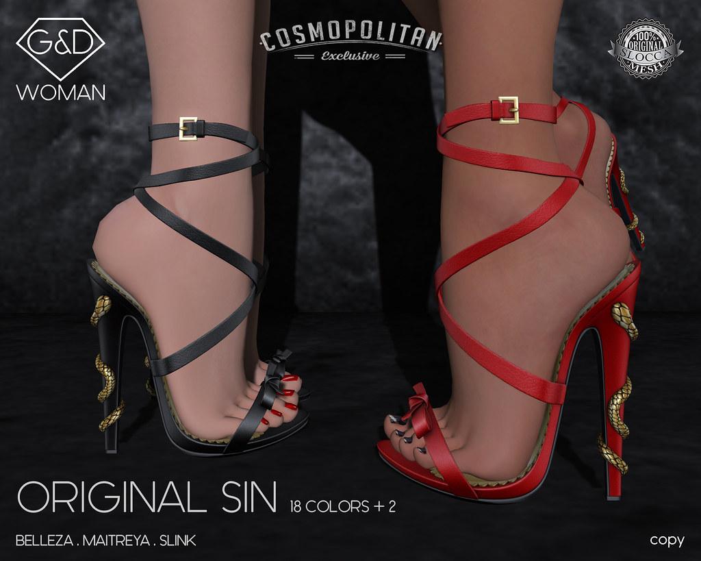 G&D sandals Original Sin adv - SecondLifeHub.com