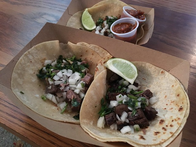 Assorted tacos - Senor Ramon Taqueria
