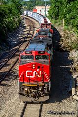 CN 2181 | GE C40-8W | CN Fulton Subdivision