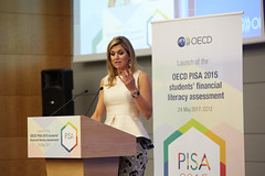 Her Majesty Queen M�xima of the Netherlands at the OECD
