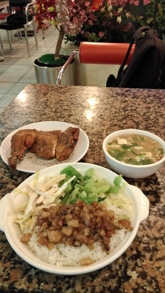 東一排骨-菜飯 2016-12-07