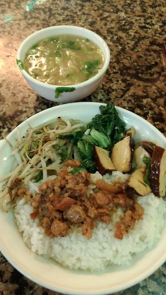 東一排骨-菜飯 2015-07-15
