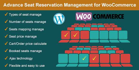Advance Seat Reservation WordPress Plugin free download