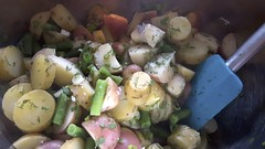 Warm Potato Green Bean Salad 7