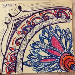 #doodle for #sleep , #art #penandpaper