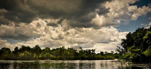 lakeoftheisles minneapolis clouds