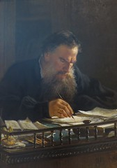 Nikolay Ge - Portrait of the Writer Lev Tolstoy, 1884