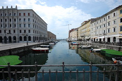 Trieste, Canale Grande (2) West View