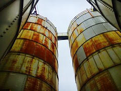 Rusted Silos - NYC