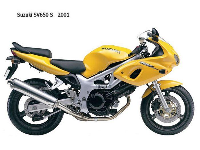 Suzuki SVS 650 2002 - 12