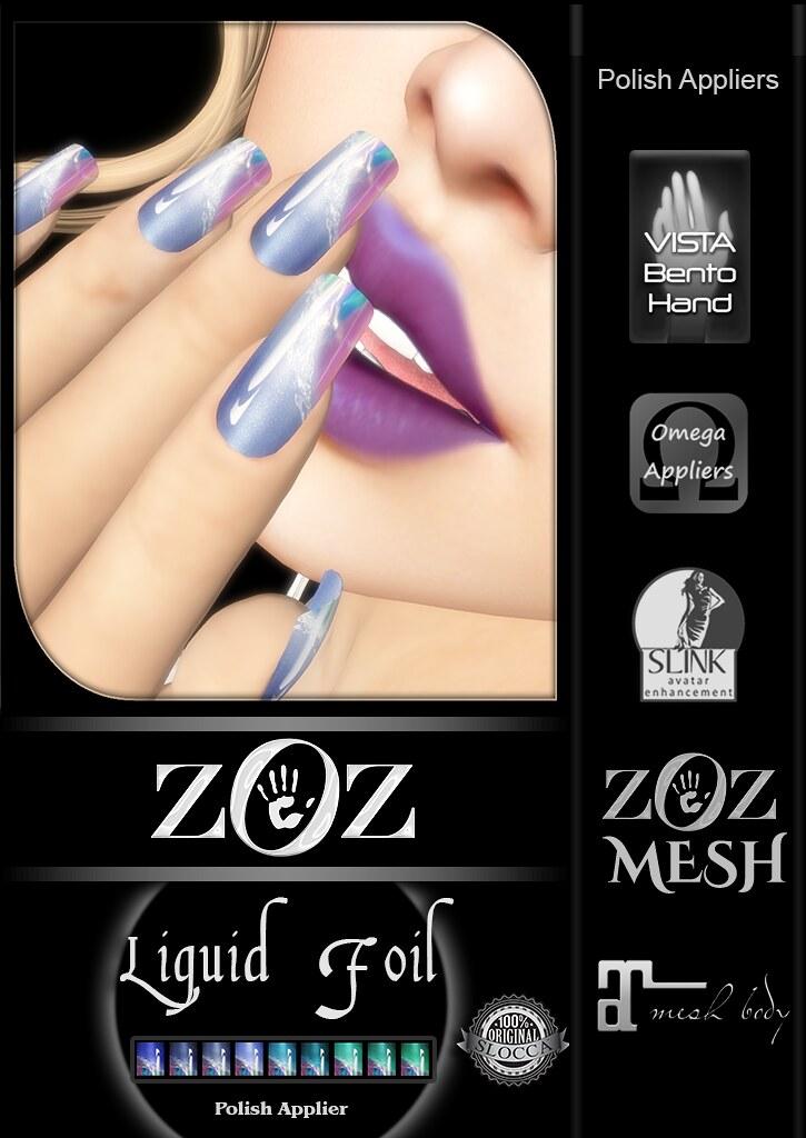 {ZOZ} Liquid Foil pix L - SecondLifeHub.com