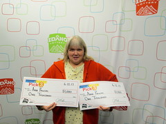 Ann Prusac - $2,000 - Pick 3 - Pocatello - COmmon Cents Food Store