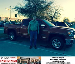 #HappyBirthday to John from Brett Stein at McKinney Buick GMC!