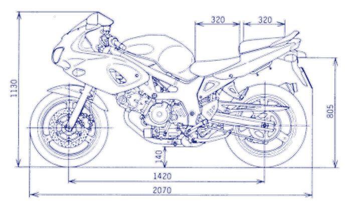 Suzuki SVS 650 2002 - 10