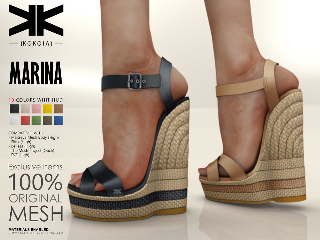 Marina :: Woman Shoes :: 10 Colors | Purchase | Shop in Seco