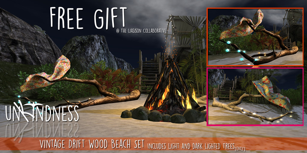 uK - Vintage Driftwood Trees - TLC GIFT - SecondLifeHub.com