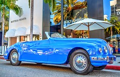 Beverly Hills Ca. Rodeo Drive Concours D'Elegance June 18th 2017 (Fathers Day) HDR