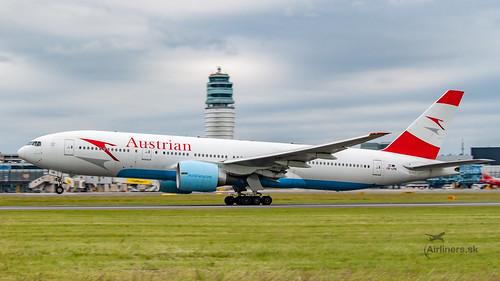 OE-LPB Austrian Airlines Boeing 777-2Z9(ER)