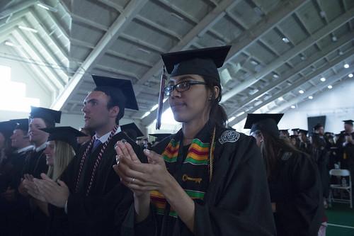 2017 Commencement at Colgate University