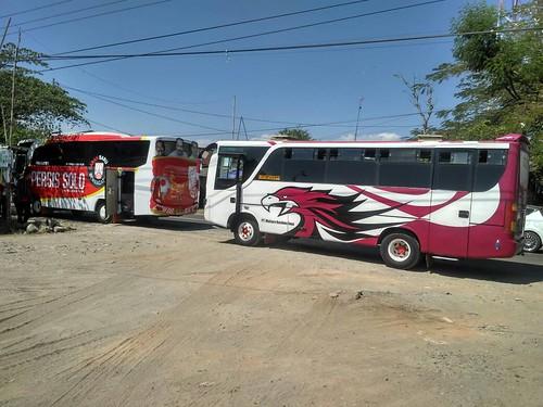 Bus Rombongan DPP Pasoepati