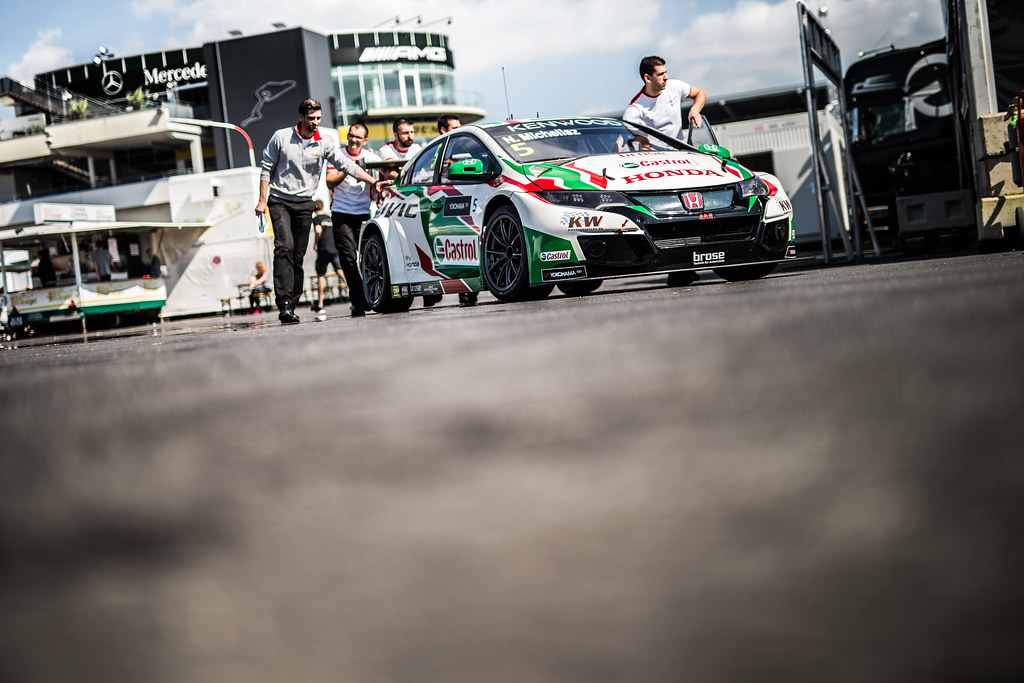 05 MICHELISZ Norbert (hun), Honda Civic team Castrol Honda WTC, ambiance during the 2017 FIA WTCC World Touring Car Race of Nurburgring, Germany from May 26 to 28 - Photo Antonin Vincent / DPPI
