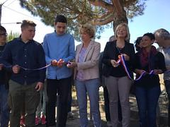 Mercredi 24 mai à la place du Gond a été inaugurée l'une des 6 boîtes à livres qui sont installées dans les quartiers de la ville : au Gond, à Saubagnacq, à la gare, au Sablar, à la Potinière et prochainement entre le lycée de Borda et le collège Léon des Landes.