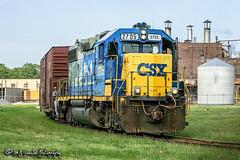 CSX 2705 | EMD GP38-2 | CSX Memphis Terminal Subdivision