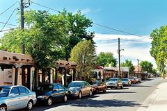 Street Scene, Old Town Albuquerque