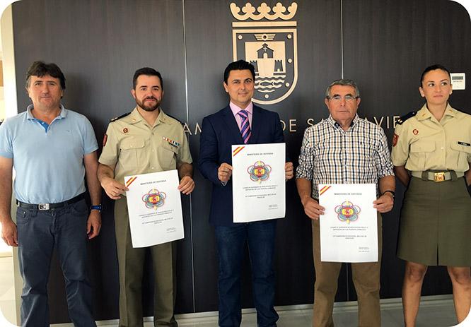 Representantes de todos los Ejércitos competirán en Santiago de la Ribera